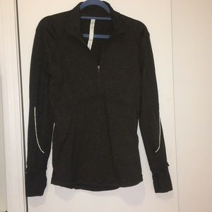 Olive Green Lululemon Workout Jacket